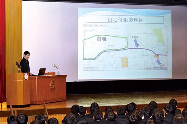 中学理科自由研究発表会【中学】